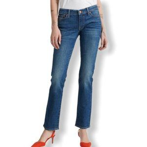 Lucky Brand Lola straight ankle jeans high rise 26